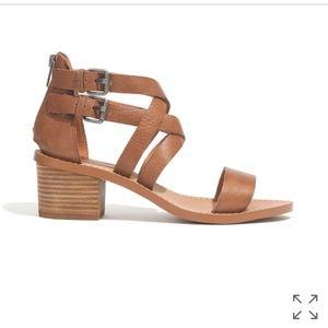 Madewell  Cross-Strap Sandal *NEW*